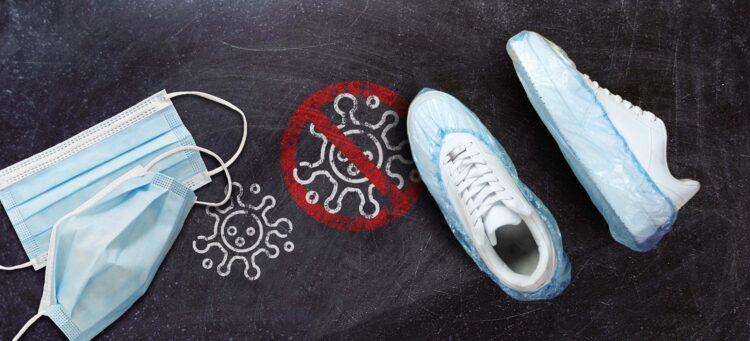Versorgungssitutation Einwegbekleidung & Desinfektionsmittel | Headerbild
